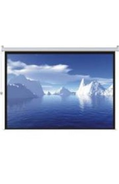 Electric Projection Screen 200x159cm